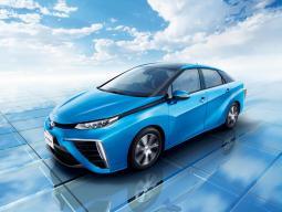 丰田氢燃料电池汽车Mirai发布 12月日本开售