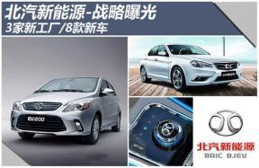 北汽新能源-战略曝光 3家新工厂/8款新车