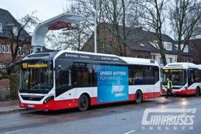 沃尔沃与西门子合作打造电动客车系统