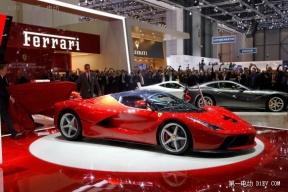 法拉利Laferrari2015年发布F1混动技术