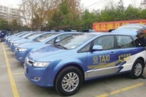 比亚迪e6电动出租车现身南京 春节前有望上路