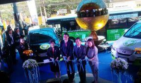 比亚迪电动汽车登陆泰国