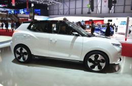 双龙Tivoli EVR概念车首尔车展亮相