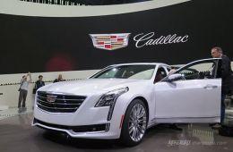 凯迪拉克CT6插电混动 上海车展发布未来将国产