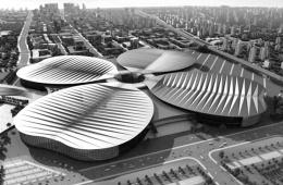 """车模""""打烊""""惊艳依旧 上海车展新能源车前瞻"""