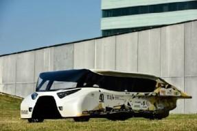 最智能太阳能电动车亮相 续航可达1000公里