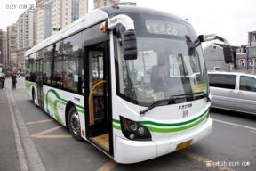 上海奥威超级电容公交车首次登陆海外