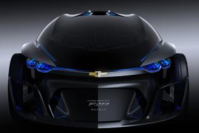 雪佛兰FNR电动概念车亮相上海车展