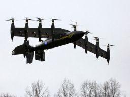 当电动车会飞 性能将是普通飞机的四倍!