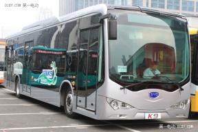 比亚迪大连工厂纯电动客车正式下线