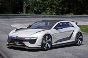 大众发布全新高尔夫GTE SPORT概念车