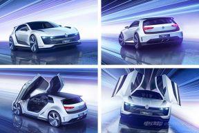 """解读""""钢炮""""大众GTE Sport概念车的设计美学"""