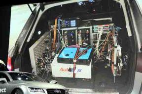 奥迪与美国英伟达公司合作研发无人驾驶系统