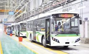 """新能源客车 """"河北造"""" 上汽唐山465台新能源公交将下线"""