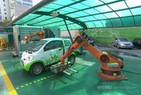 电动汽车尝试换电模式 换电站普及有难点