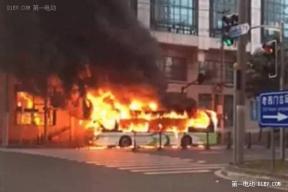 上海申沃超级电容公交车自燃 起火原因正在调查