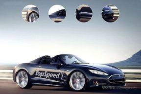 特斯拉新Roadster概念图再次曝光