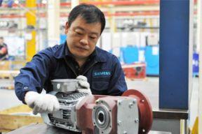 西门子新一代减速电机Simogear在天津正式下线