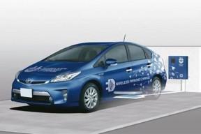 丰田将在日本试验为电动汽车无线充电