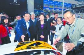 2014湖南车展盛大开幕 首次开辟新能源车展区