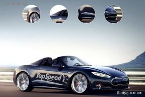 特斯拉新Roadster概念图再次曝光 或2018年上市
