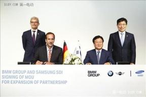 宝马与三星SDI扩大电池订单 价值数十亿欧元