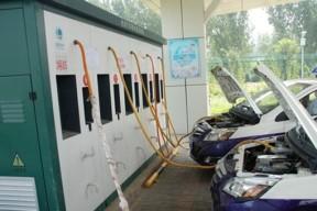 北京电动汽车充换电站遍布16区县 累计减排破万吨