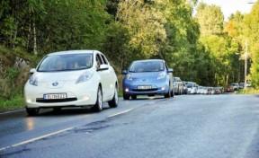挪威2013年电动汽车新车登记数量有望突破1.5万台