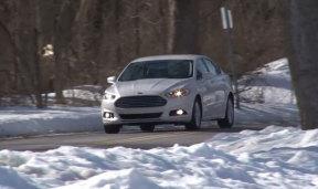 福特新款蒙迪欧混动版 专业试驾