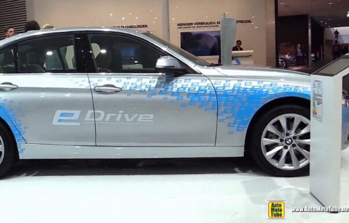 内外实拍2016宝马BMW 330e e-Drive插电混动版