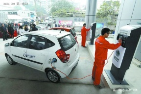 湖南政协督办重点提案推电动汽车充电站建设
