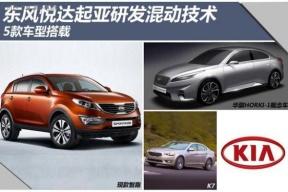 东风悦达起亚研发混动技术 5款车型搭载
