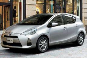 日本7月新车销量排行 丰田混动AQUA夺冠