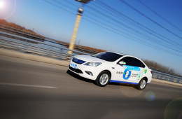 动力表现出色 电动邦试驾长安逸动EV