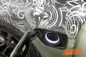 宝马3系插电混动谍照曝光 支持家用电源充电
