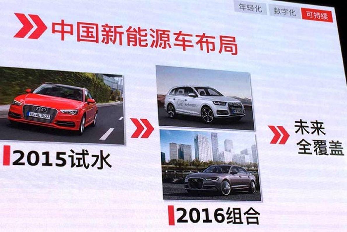 奥迪新产品规划曝光 两款插混车型今年入华