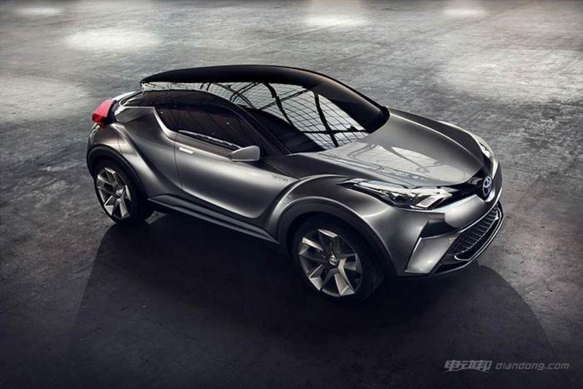 丰田C-HR混合动力车型将量产 日内瓦车展亮相