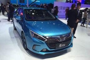 比亚迪秦EV上市在即 补贴后卖15.98-17.98万