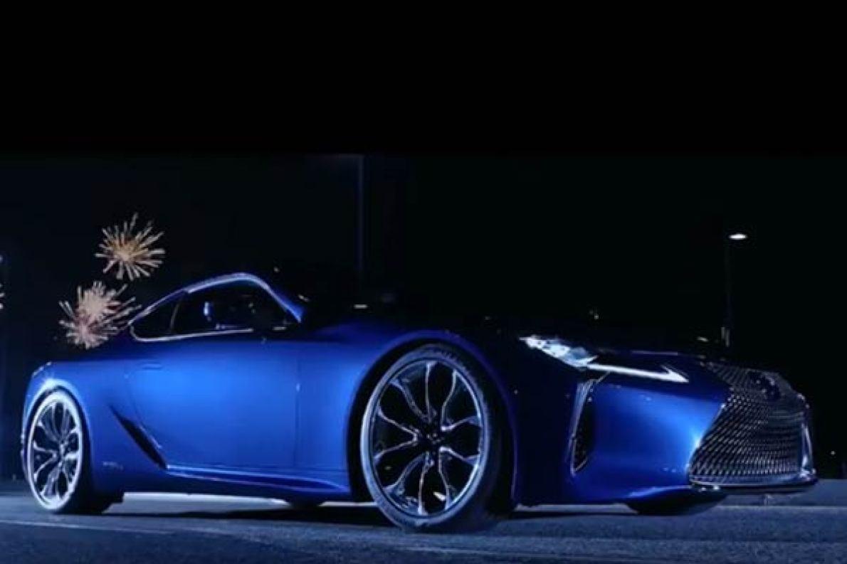 2016日内瓦车展雷克萨斯lc500h