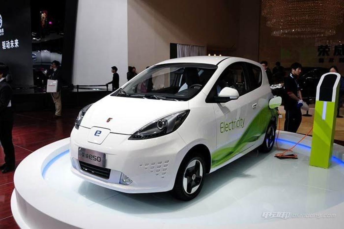 荣威E50改款:电池升级、续航增加、售价降低!