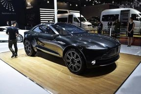 阿斯顿马丁建设全新工厂 投产DBX电动跨界车