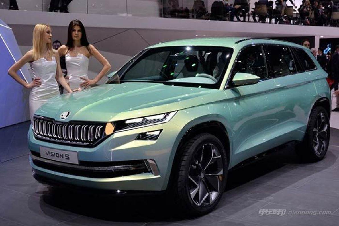 斯柯达日内瓦车展发布VisionS插电混动概念车