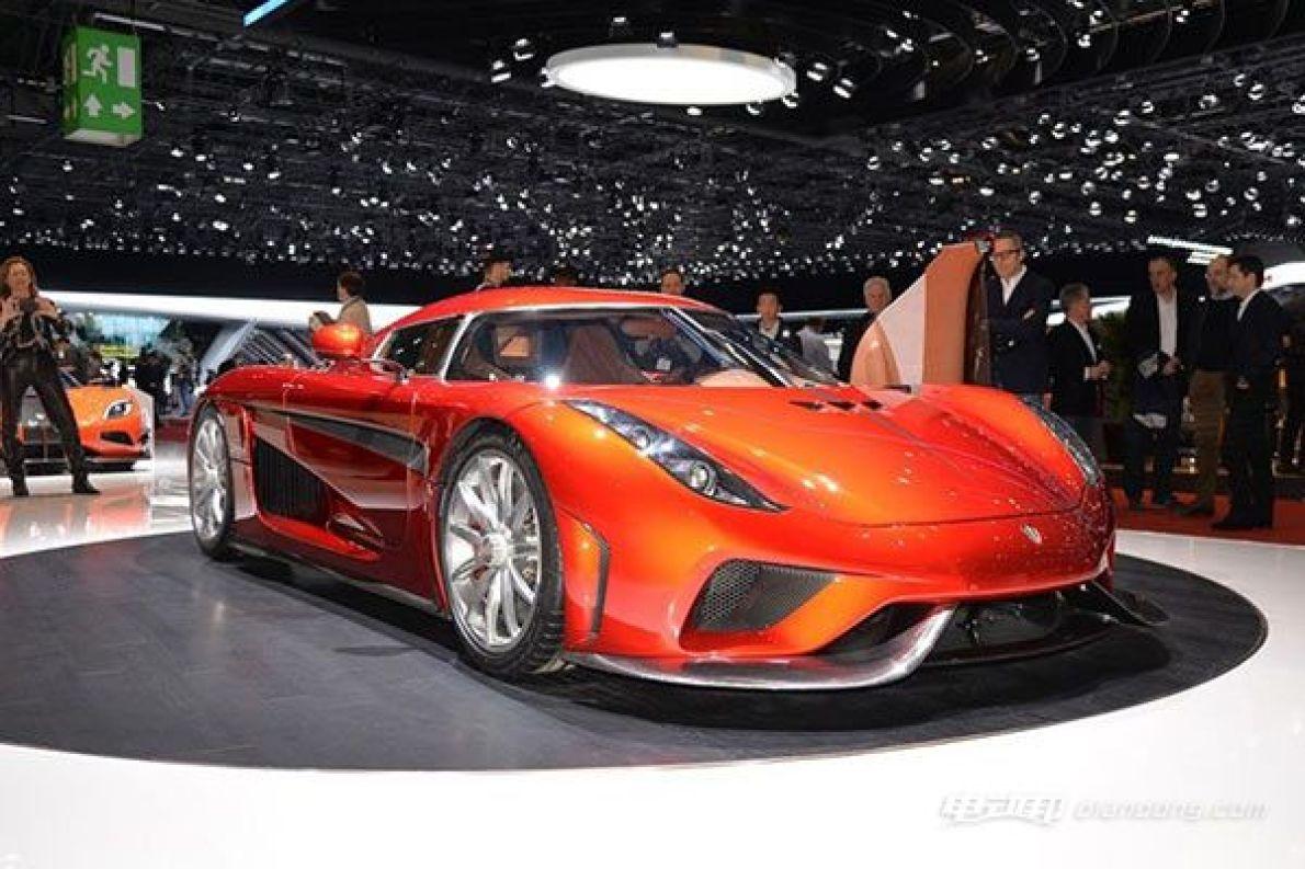 科尼赛克Regera量产版亮相日内瓦车展