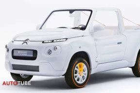 雪铁龙e-mehari电动概念车-白色风格