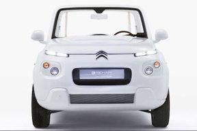 雪铁龙e-mehari电动概念车