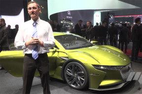 日内瓦车展的DS概念车