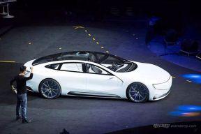 乐视LeSEE概念车正式发布 具备无人驾驶功能