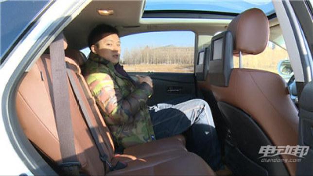 雷克萨斯RX450h视频评测-内饰篇