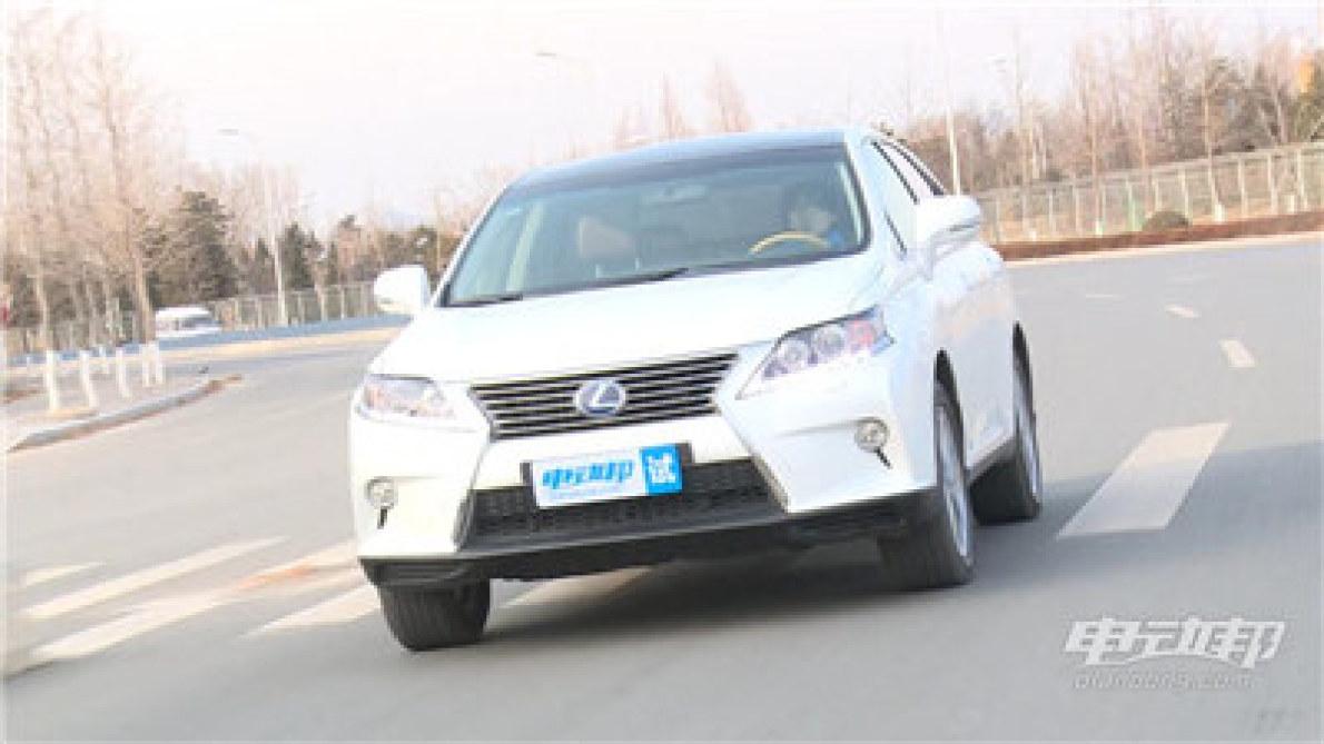 雷克萨斯RX450h视频评测-驾驶篇