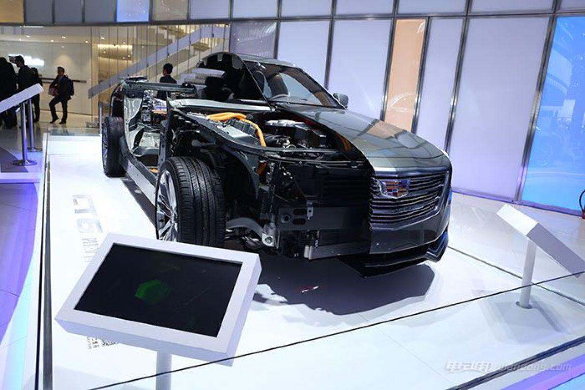 2016北京车展:上汽通用三款混动车型亮相